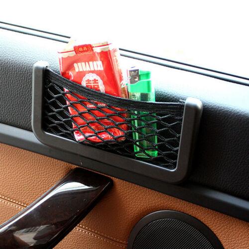 Universal Car Seat Side Back Net Storage Bag Phone Holder Pocket Organizer
