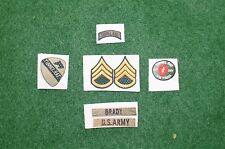 1/6 US Vietnam Tunnel Rat patch set