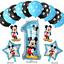 DISNEY-Mickey-Mouse-Compleanno-Palloncini-Stagnola-Lattice-Party-Decorazioni-di-genere-rivelare miniatura 4