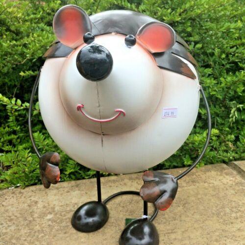 Hedgehog Metal Bouncing Garden Ornament Indoors//Outdoors £14.99