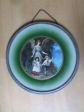 Antik Heiligenbild Schlafzimmerbild Engel Bild Schutzengel Shabby Bild 2