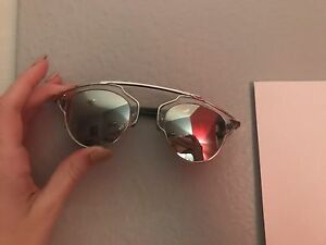 aedce4422f84 Image is loading Christian-Dior-So-Real-Sunglasses-85LDC-Authentic-Silver-