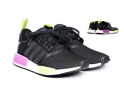 Adidas NMD/_R1 Schuhe Herren Originals Freizeit Sneaker Turnschuhe black D96627