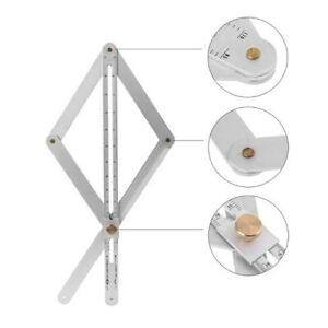 Professional-Multi-angle-Corner-Angle-Finder-Protractor-Ruler-Woodworking-UK-fhj