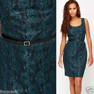 Party Dress Lace Incl 99 588 Size Belt Joy Cocktail Dark Black € Overlay Green Rrp Large Vila 59 qIAHRYwt