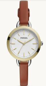 Fossil Classic Three-minute Hand Ladies Watch BQ3396