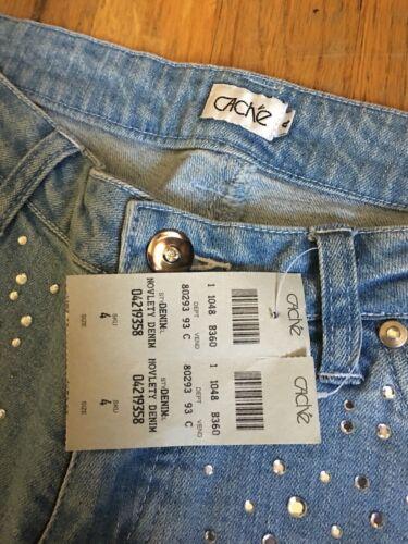 Nwt 159 Msrp Jeans 4 Bootcut S Bling Dejlige Cacherhinestone aOaxwrRq
