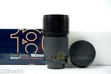 Contax Zeiss Sonnar T* 180mm F/2.8 C/Y Lens MMJ