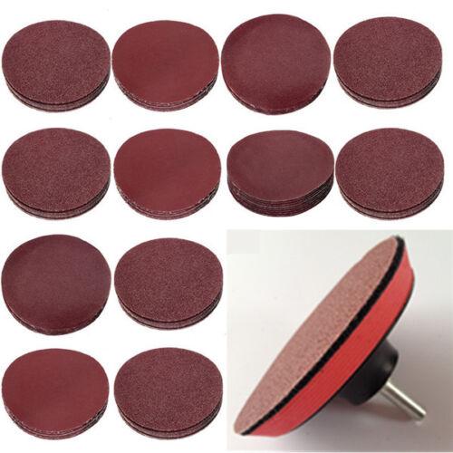 Dischi abrasivi 10pcs 3 Inch 40-2000 Grit Sander Sanding Paper Abrasive Tool