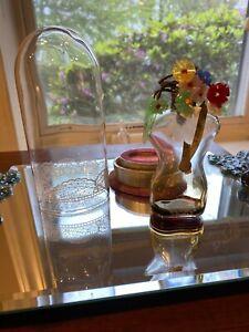 Vintage-Schiaparelli-Perfume-Shocking-1930-039-s-Beautiful-Glass-Flowers