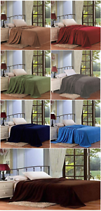 Solid-Color-Super-Soft-Micro-Plush-Bed-Blanket-Warm-Light-Weight-All-Season