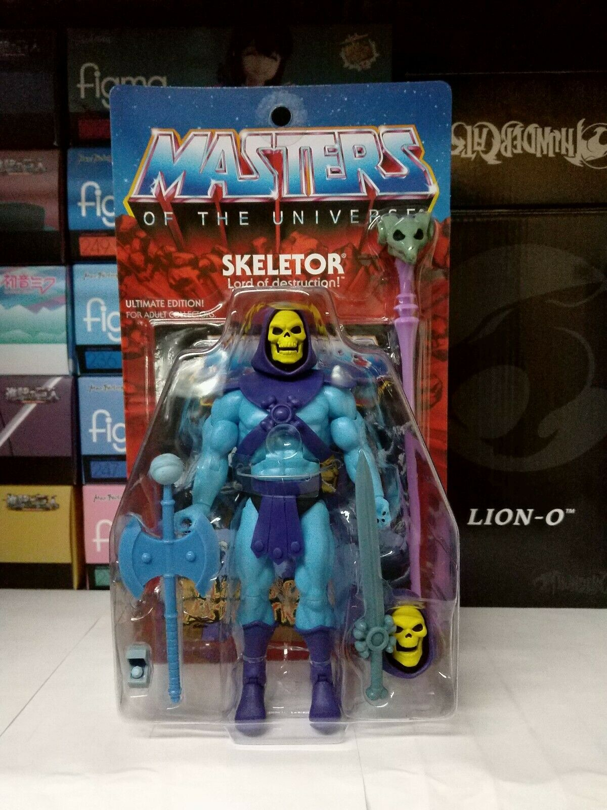 Ultimate Skeletor Motuc Masters Of The Universe Classics súper 7