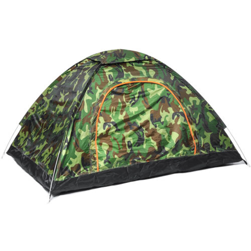 US 2-3 Person Camping Tent Outdoor Automatic Pop Up Folding Waterproof Hiking