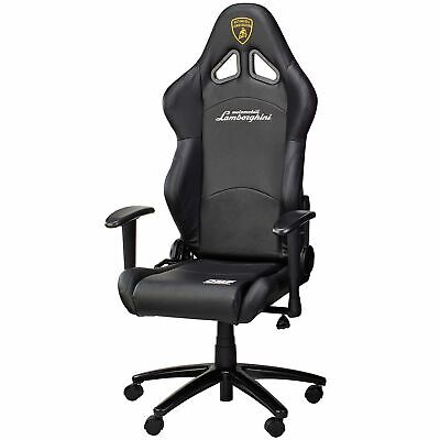 Omp Automobili Lamborghini Collection Racing Seat Office Chair In Black Ebay