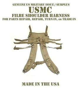 USMC-SHOULDER-STRAPS-HARNESS-FILBE-ILBE-MAIN-PACK-BACKPACK-PARTS-REPAIR-TURN-IN