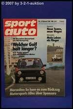 Sport Auto 2/81 Porsche 924 Carrera GT Mazda RX +Poster