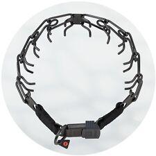 HS Sprenger Black Stainless Steel Ultra Plus ClicLock Buckle Prong Collar 3.2mm