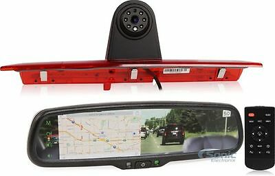 Car Video Boyo Vision Vtftk2 Rearview Mirror Monitor/backup Camera Kit For Ford Transit To Have A Long Historical Standing