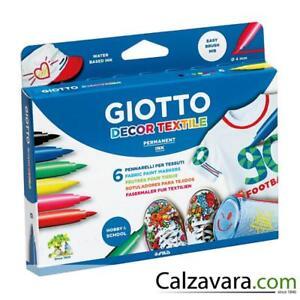 Textile Fila Art 6 Per Decor Colori Pennarelli Giotto Tessuti wxqaF16