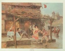 The Opportunist - Alonzo Perez - vintage scene poster print -44 x 34cms