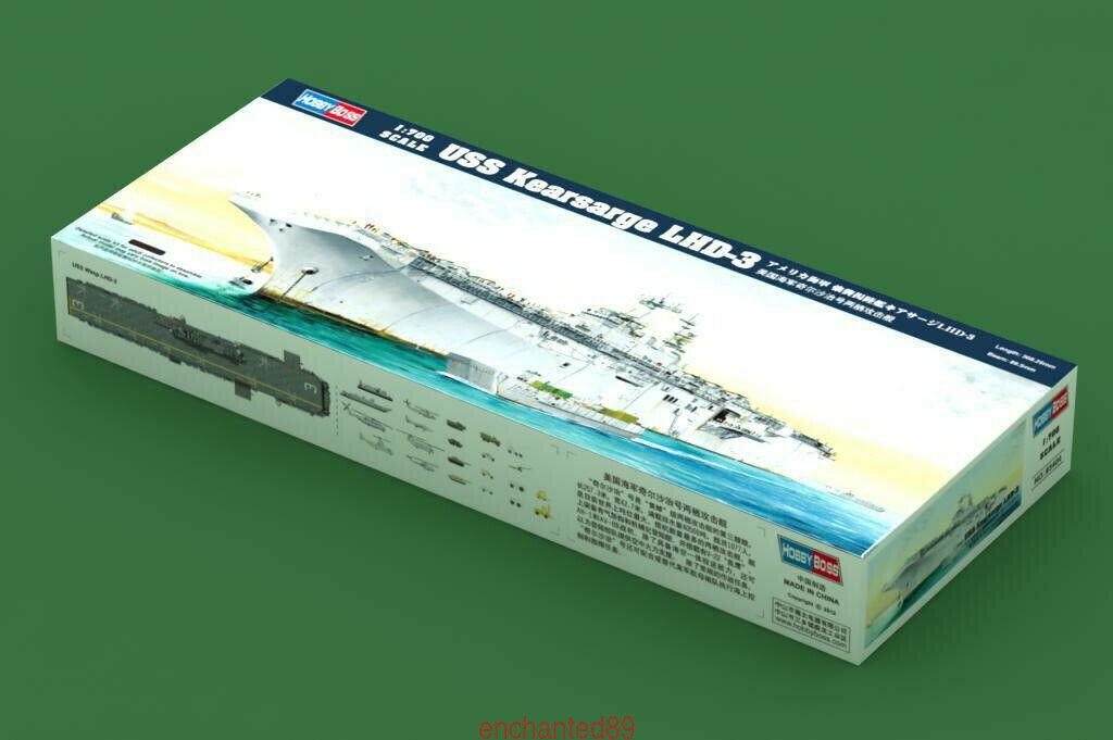 Hobbyboss 83404 1 700 USS Kearsarge LHD-3 Model Kit