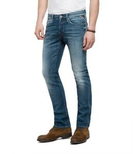Vaqueros-REPLAY-hombre-WAITOM-super-stretch-denim-regular-fit-M983-573-164-nuevo