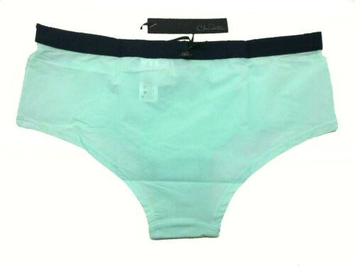 Claudette Sophia Boyleg Bikini Panty Brief Women Underwear Lingerie Seafoam Navy