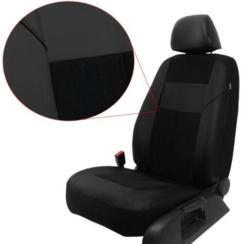 Sitzbezüge Autoschonbezüge Schwarz geeignet für Rover 45 206 206 207 208 209