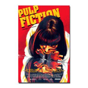 36 27x40in F-632 Pulp Fiction Movie Vintage Uma Thurman Hot Poster Art Print