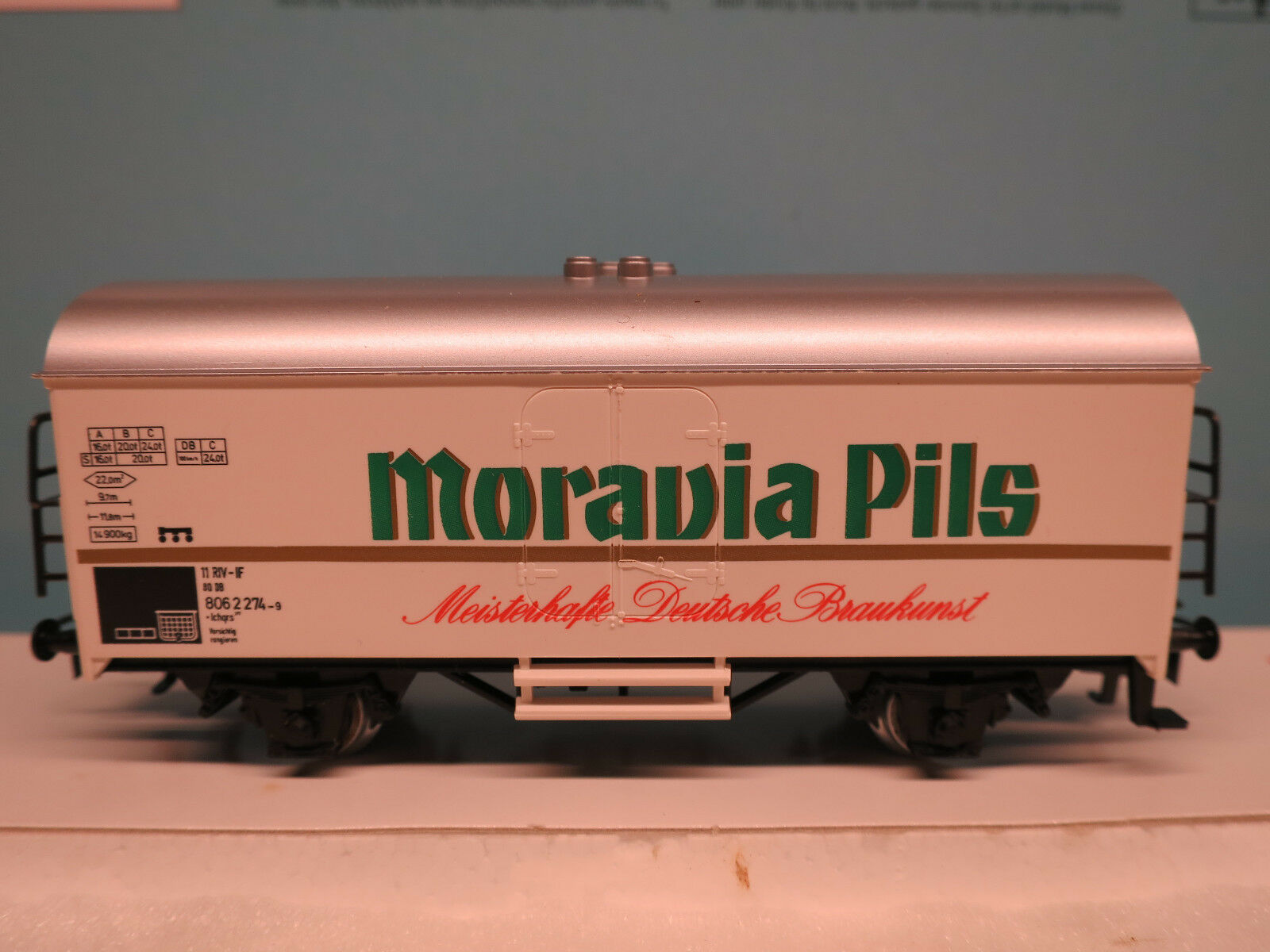 (I   6 P3) Märklin Spécial Bierwagen   Moravia Pils   Top Neuf