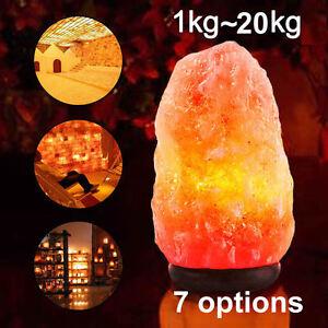 HIMALAYAN-SALT-LAMP-Crystal-Rock-Natural-Pink-Dimmer-Switch-Night-Light-1-20-Kgs
