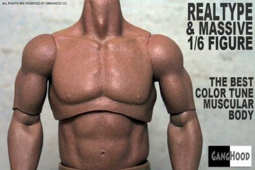 GangHood 1//6 Scale Muscular Body 1.0 Version For Hot Toys Bane Head USA