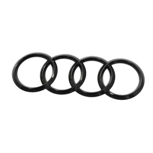 Original audi q8 sq8 caracteres portón trasero anillos Black Edition emblema Blackline OEM