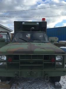 1986 CHEVY ARMY AMBULANCE