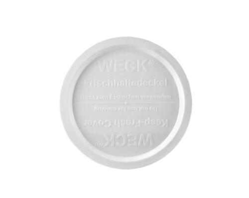 5 Weck Frischhaltedeckel 100mm Verschluß Rundrandgläser Einkochglas Einmachglas