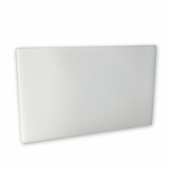 Cutting Board 380x510x13mm White Polyethylene Chopping Board