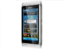 Nokia N Series N8 16GB Silver(Unlocked) Smartphone WIFI GPS 12MP