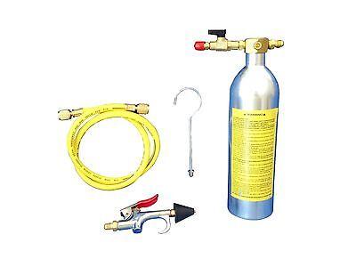A/C AC AIR CONDITIONER SYESTEN FLUSH CANISTER GUN KIT R134 ,R12,R22,R410,R404