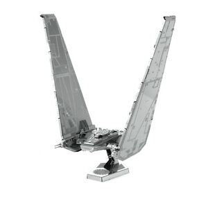Metal-Earth-Star-Wars-Kylo-Ren-039-s-Command-Shuttle-3D-Laser-Cut-Metal-Model-Kit