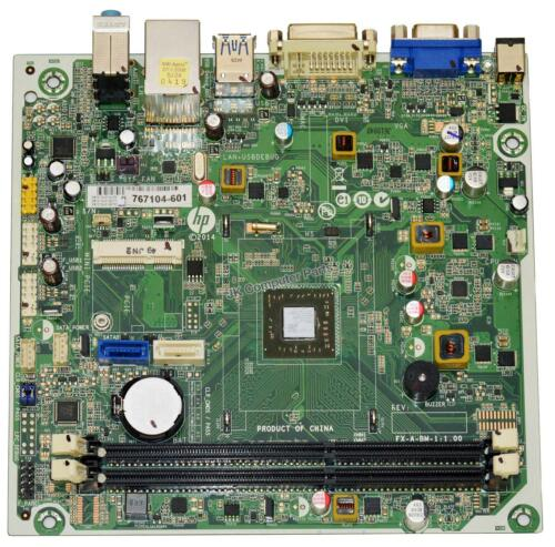 HP 110-414 Camphor2 Beema Desktop Motherboard AMD A8-6410 2.0GHz CPU 767104-601