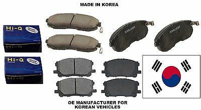Toyota RX350 RX450h For 12-2011 Lexus Sienna Front Rear Ceramic Brake Pads