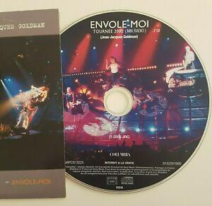 GOLDMAN-CD-PICTURE-PROMO-ENVOLE-MOI-RADIO-MIX-VERSION-LIVE