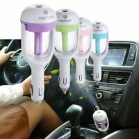 Car Aromatherapy Essential Oil Diffuser Humidifier Mist Purifier Cool Summer Us
