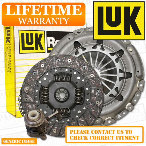 FORD PUMA 1.7 Clutch Kit 3pc 125 03//97-06//02 FWD Coupe MHA MHB