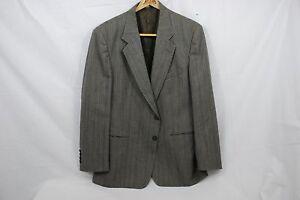 Daniel-Hechter-Men-039-s-Sports-Jacket-Grey-With-Pinstripes