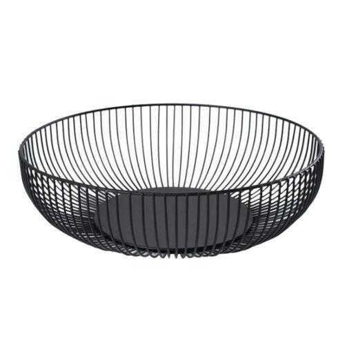 Bread Storage Bowl Holder Wire Fruit Basket Metal Fruit Vegetable Egg