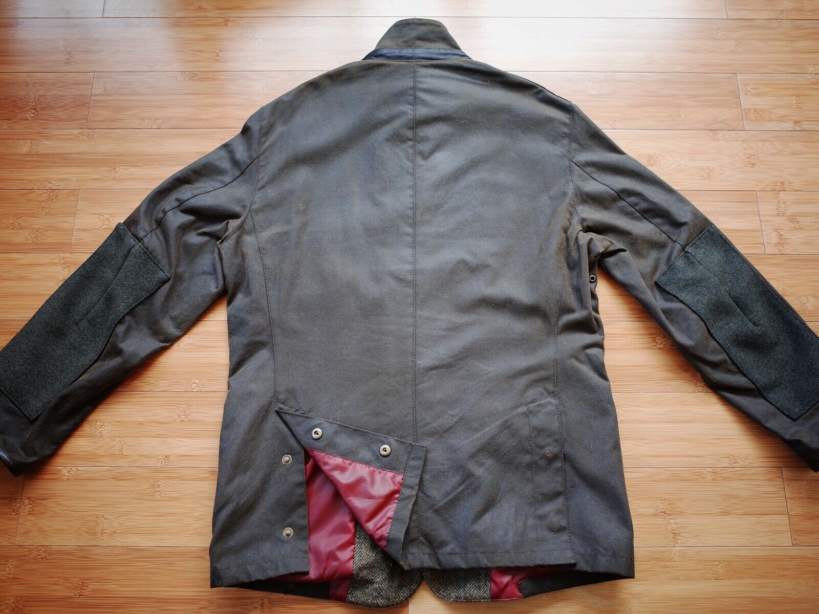 Barbour Dalkeith Wax Jacket – (size Small)  - image 3