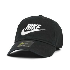 0ba69a5a Image is loading Nike-Futura-Wash-Heritage86-Sports-Peak-Cap-Baseball-