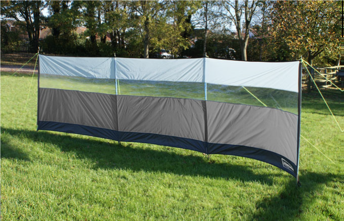 Leisurewize Outdoor Campeggio Camper Sun & Wind Break SHELTER SCREEN -500 x 140 cm