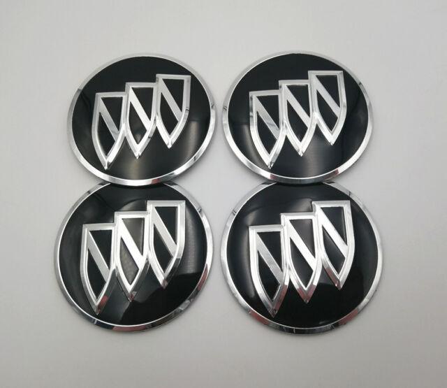 4X 56MM//2.2IN Aluminum Black Cartoon Universal Car Wheel Center Hubcap Emblem Sticker Decals for Aftermarket Wheel Rims
